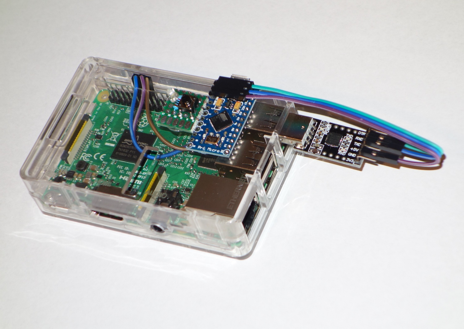 Usb serial on raspberry pi